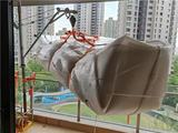 上海浦东新区吊家具沙发玻璃上楼