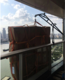 上海黄浦外滩吊床垫上楼公司